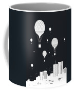 Balloons And The City Coffee Mug