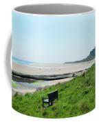 Bamburgh Castle And Beach Coffee Mug