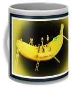 Banana Boat Mining Company Black Frame Coffee Mug