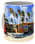 Bankie Banxs Dunes Preserve Beach Bar Coffee Mug by Ola Allen