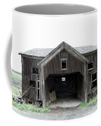 Barn 1886, Old Barn In Walton, Ny Coffee Mug by Gary Heller