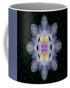 Baroque Fantasy Flowers Ornate Coffee Mug