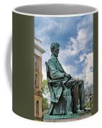 Bascom Hall Lincoln Statue Coffee Mug