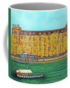 Basel Kaserne - Autumn Coffee Mug by Lisa Lorenz
