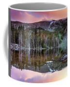 Basin Lake Sunset Coffee Mug