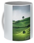 Bathed In Emerald Coffee Mug