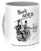 Beach Goth Coffee Mug