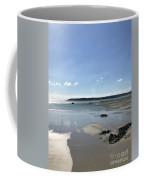 Beach Scene On A Sunny September Afternoon  Coffee Mug