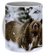 Bear In The Snow Coffee Mug