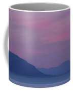 Beautiful Surreal Twilight Sky In Pink And Lavender Pastel Color Coffee Mug