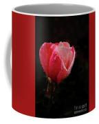 Beautiful Wet Rose Coffee Mug