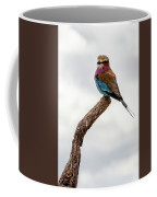Beauty With Wings, The Lilac Breasted Roller Coffee Mug