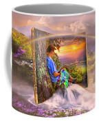 Becoming Part Of The Story In Watercolors Coffee Mug