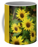 Bee And Sunflowers Coffee Mug