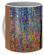 Beech Grove Abstract Expressionism Coffee Mug