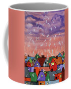 Being Caught Up In Slow Motion Thessalonians 14 16-18 Coffee Mug by Anthony Falbo