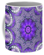 Bejeweled Easter Eggs Fractal Abstract Coffee Mug by Rose Santuci-Sofranko