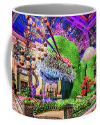 Bellagio Conservatory Spring Display Front Side View Wide 2018 2 To 1 Aspect Ratio Coffee Mug