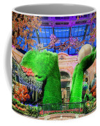 Bellagio Conservatory Spring Display Ultra Wide Trees 2018 2 To 1 Aspect Ratio Coffee Mug