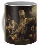 Belshazzar S Feast  Coffee Mug