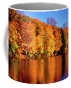 Bernharts Dam Fall 008 Coffee Mug