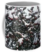 Berries And Snow Coffee Mug