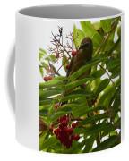 Berries And Waxwing Coffee Mug