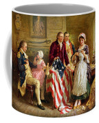 Betsy Ross And General George Washington Coffee Mug