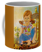 Bianka And Butterflies Coffee Mug