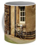bicycle in Edinburgh close Coffee Mug