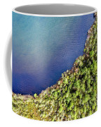 Big Bay Bear Lake Aerial Coffee Mug