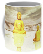 Big Buddha, Little Buddha Coffee Mug