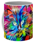 Big Whiskers Cat Coffee Mug by Don Northup