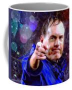 Bill Belichick Spotlight Portrait Coffee Mug