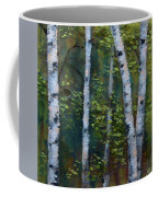 Birch Portrait II Coffee Mug
