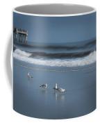 Birds And Waves Coffee Mug