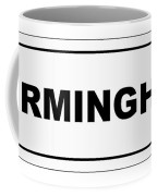 Birmingham City Nameplate Coffee Mug