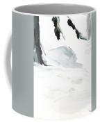 Black And White #2 Coffee Mug by Maria Langgle