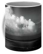 Black And White Clouds - Panorama Coffee Mug