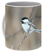 Black-capped Chickadee In Spring Coffee Mug