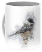 Black-capped Chickadee Perch Coffee Mug by Patti Deters