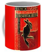 Black Ivory Rabbit Coffee Mug