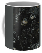 Black, Silver And Gold Abstract Coffee Mug