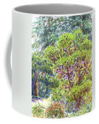Blake Garden, Berkeley Ca Coffee Mug by Judith Kunzle
