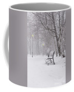 Blizzard In The Park Coffee Mug
