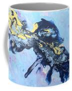 Blue Abstract #3 Coffee Mug