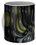 Blue And Yellow Maiz Coffee Mug