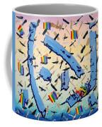 Blue Cauldron Coffee Mug