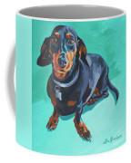 Blue Dachshund  Coffee Mug