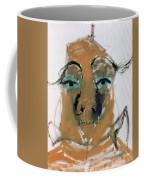Blue Eyed Man Coffee Mug